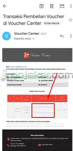 11 Klik Link di Email