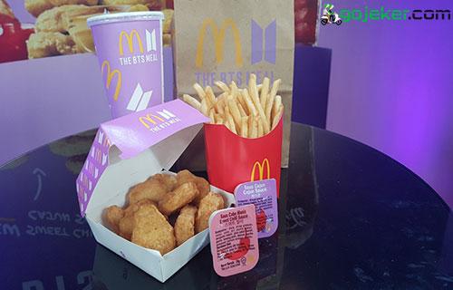 Cara Dapatkan Orderan BTS Meal McDonalds