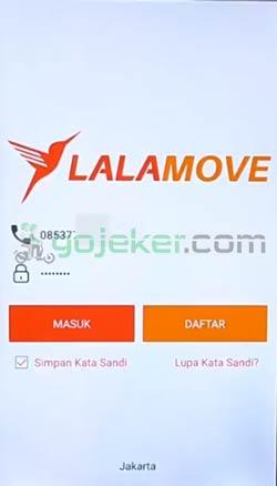 1 Buka Aplikasi Lalamove
