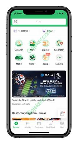 1 Buka Aplikasi Grab 1