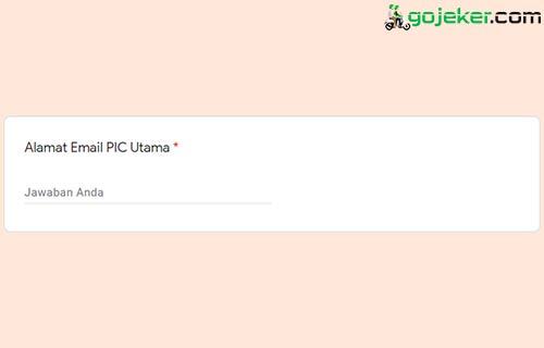 10 Alamat Email PIC Utama