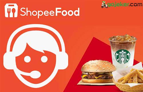 Cara Menghubungi Email CS Shopee Lewat Aplikasi Driver Shopee food
