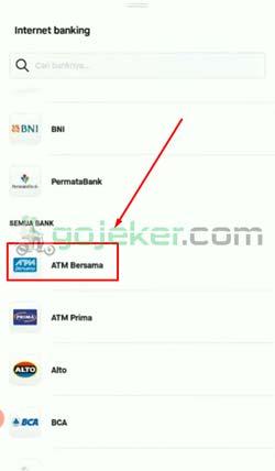 5 Tap ATM Bersama
