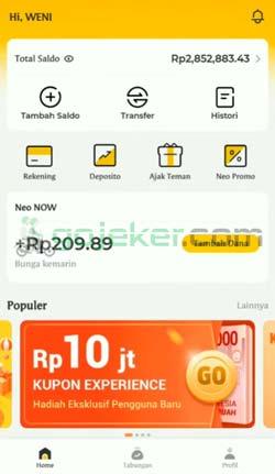 7 Cara Top Up Gopay Lewat Bank Neo