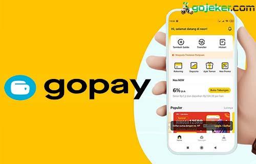 Cara Top Up Gopay Lewat Bank Neo Syarat Biaya